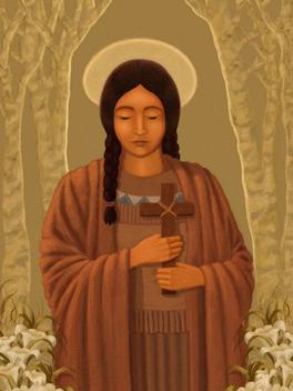 Kateri Tekakwitha and Saint Kateri's Shrine